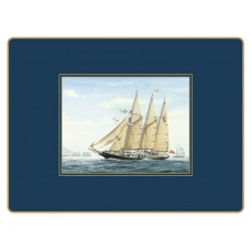 Traditional Continental Placemats Tall Ships
