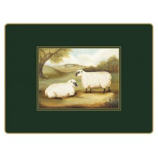 Traditional Continental Placemats Naive Animals