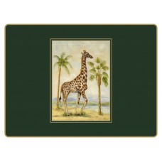 Traditional Continental Placemats African Animals