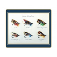 Traditional Tablemats Classic Salmon Flies
