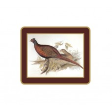 Traditional Coasters Gould Game Birds