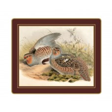 Traditional Tablemats Gould Game Birds