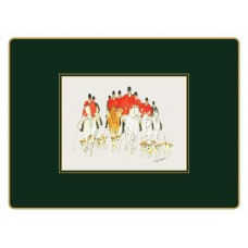 Traditional Continental Placemats Hunting (PO)