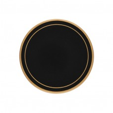 Black Screened Round Coasters