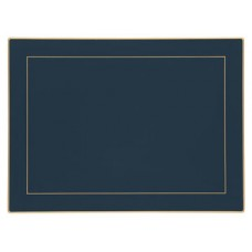 Oxford Blue Screened Continental Placemats