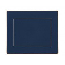 Oxford Blue Screened Tablemats