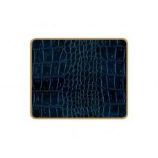 Texture Coasters Blue Croc