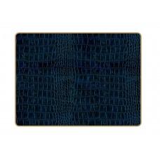 Texture Placemats Blue Croc