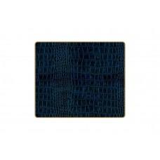 Texture Tablemats Blue Croc