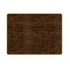 Texture Placemats Brown Croc