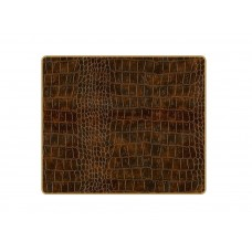 Texture Tablemats Brown Croc