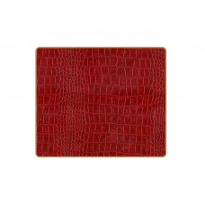 Texture Tablemats Burgundy Croc