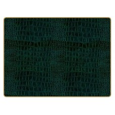 Texture Continental Placemats Green Croc