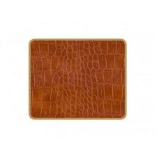 Texture Coasters Tan Croc