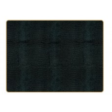 Texture Continental Placemats Black Lizard
