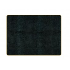 Texture Placemats Black Lizard