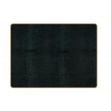 Texture Placemats Black Lizard