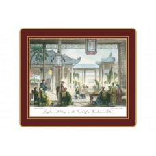 Traditional Tablemats Chinese Engravings
