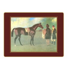 Traditional Continental Placemats Racehorses