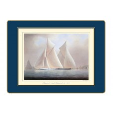 Traditional Continental Placemats Racing Yachts
