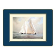 Traditional Placemats Racing Yachts