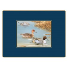 Traditional Continental Placemats Wildfowl