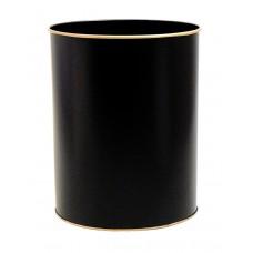 Waste Paper Bin Black
