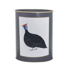 Waste Paper Bin Guinea Fowl / SW