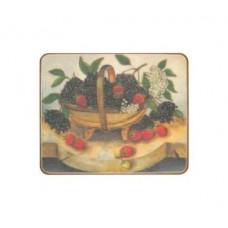 Melamine Coasters Summer Fruit