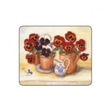 Melamine Coasters Pansies & Violas
