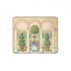 Melamine Coasters Topiary