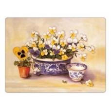 Melamine Placemats Pansies & Violas
