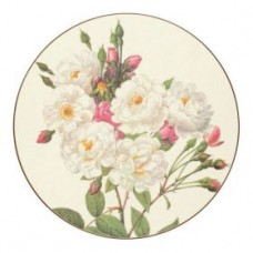 Round Melamine Placemats Redoute Roses