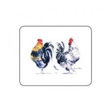 Melamine Coasters Chicken Groups
