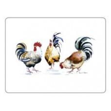 Melamine Placemats Chicken Groups
