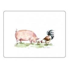 Melamine Placemats Pigs