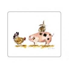 Melamine Tablemats Pigs