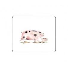 Melamine Coasters Pigs